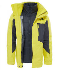 The North Face Men's CLEMENT TRICLIMATE 3in1 Ski Snowboard Jacket Acid Yellow M