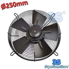3S Ventilatore ventola assiale PREMENTE Ø 250 mm 55 W motore monofase 220v New