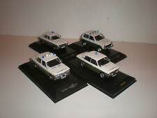 1/43 Set of 4 models Moskvitch-408 LADA-2103, 2121 & 1200  Volkspolizei