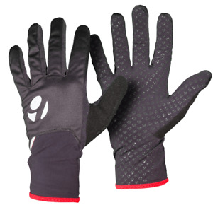 Bontrager Solstice Windshell Cycling Gloves Black XL XXL 2XL Silicone Reflective