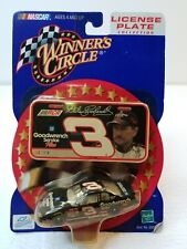 Dale Earnhardt Winners Circle #3 Goodwrench Car License Plate Collection (2000)