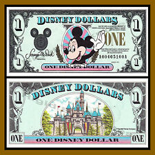 "Disney 1 Dollar, 1991 Series ""AA"" Disneyland Uncirculated"