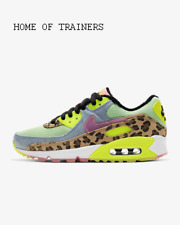 Nike Air Max 90 LX 90s Illusion Dancefloor Green Women's Trainers All Sizes