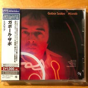 GABOR  SZABO  :  MIZRAB  -  Japan Blue Spec CD m. OBI  -  mint !