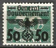 Germany Third Reich General Government 1940 MH - Polish Porto 50 O/P on 30 Mi 37