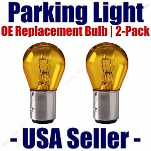 Parking Light Bulb 2 pack OE Replacement Fits Listed Pontiac Vehicles - 1157A