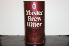 Shepherd Neame Master Brew Bitter Flat Top Empty Beer Tin, 4 pints - Rare!