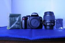 Nikon D D3000 10.2MP with 18-55mm GII lens. Shutter count 13.7K. Works great.