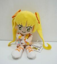 "Heartcatch Pretty Cure! Precure SUNSHINE Banpresto 7"" Plush 2010 TAG Japan 46802"