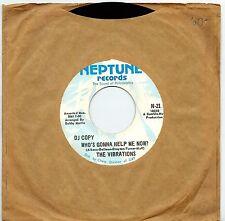 U.S.A. DJ COPY 1969 FUNK 45 RPM THE VIBRATIONS : SMOKE SIGNALS +
