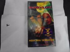 BABYLON 5 SEASON 5 - PHOENIX RISING/ THE RAGGED EDGE VHS NEW