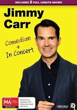Jimmy Carr - Comedian & In Concert (DVD, 2016, 2-Disc Set) - Region 4