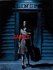 Original Dark Shadows Vicki Arrives At Collinsport Dean Monahan Art Print