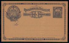 MayfairStamps El Salvador 1895 One Cent Mint Postal Stationery Card WWE09673