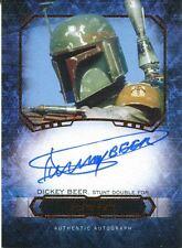 Star Wars Masterwork 2016 Canvas Autograph [*/25] Dickey Beer