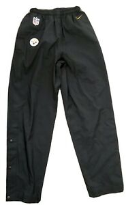 NFL Pittsburgh Steelers Nike Storm-Fit Rain Pants Team Issued Onfield Mens Med