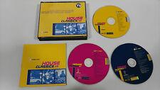 HOUSE CLASSICS VOLUME ONE 3 X CD VENDETTA RECORDS DESCATALOGADO UNICO EN EBAY!!!