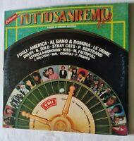 VARIOUS 2 x LP TUTTOSANREMO 1982 33 GIRI VINYL 1982 ITALY EMI 3C 16478080 EX/EX