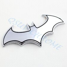 Auto Accessories Chrome Bat Badge Emblem Symbol Sticker Decal Garnish Decor Trim