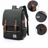 Business Laptop Backpack, Lightweight Functional Durable Nylon Travel Notebook C