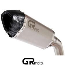 Exhaust for SUZUKI GLADIUS SFV 2009 - 2016 GRmoto Muffler Carbon Titanium