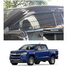Wind Deflector Weather Guard Window Visor For 2012-2018 Chevrolet Colorado S10