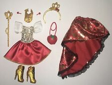 Ever After High Apple White Fashion Doll Outfit Clothes 2 in 1 Dress Shoes NEW