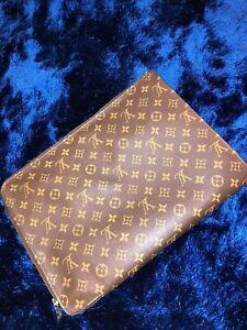 Authentic Louis Vuitton Monogram Laptop Document Holder.