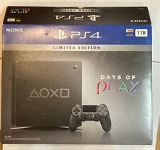 Sony PS4 Slim Days of Play Limited Edition 1TB - Open Box - Fast Ship