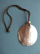 Pearl Pink Pendant Necklace