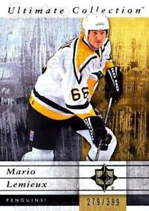 2011-12 UD Ultimate Collection #46 Mario Lemieux