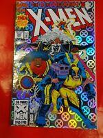 X men uncanny #300 comics foil cover Marvel Comic book 90s :- crime wave comics