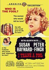 I THANK A FOOL - (1962 Susan Hayward) Region Free DVD - Sealed