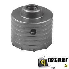 Scie Cloche Trépan TCT 80mm en carbure pour Béton / Brique / Cellulaire