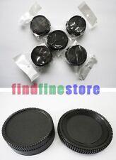 5x Rear lens and Body cap cover for Nikon DSLR SLR AI AF Wholesale lots 5 pcs