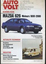 (11A) AUTO VOLT MAZDA 626 Moteurs 1800-2000 Juin 1991 n°667
