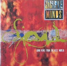 SIMPLE MINDS  GOOD NEWS FROM THE NEXT WORLD  CD   - A1-