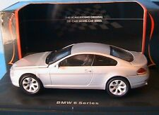 BMW 645CI SERIE 6 COUPE SILVER KYOSHO 03511S 1/43 ROADSTER SILBER ARGENTE