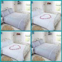 Heart Design Duvet Cover Bedding Set Single Double King Sizes