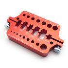 Aluminum Soldering Jig for RC Connectors (Bullet, XT60, XT90, Dean's, Mini-T/T,