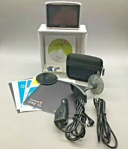 """TomTom ONE XL Portable Car 4.3"""" LCD GPS System - Fast Free Shipping - A26"""