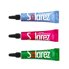 Solarez Fly Tie Uv Cure Resin - 3 Pack Starter Kit - Thin Hard, Thick Hard, Flex