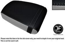 Desgn 3 Gris y Negro Vinilo personalizado para Suzuki GZ 125 MARAUDER Cubierta de Asiento Trasero