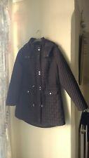 TU Sainsbury's Black Waterproof Coat Jacket - 14