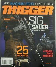 Trigger Vol 4 No 2 2016 Sig Sauer Storms the Market Magnum Opus FREE SHIPPING sb