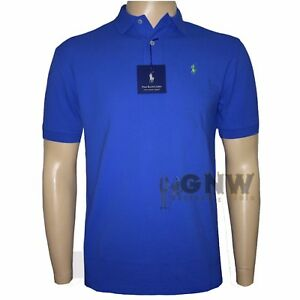 RALPH LAUREN POLO MEN T Shirt /Tee NAVY/RED S/M/L/XL/XXL CLASSIC FIT NWT