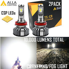Alla Lighting 10000lm LED H8 TS CR Cornering Light|Daytime Running DRL|Fog Lamp