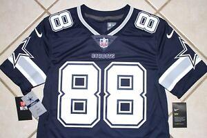 $150 NEW NIKE Dallas Cowboys DEZ BRYANT LIMITED Football Jersey MENS Navy SEWN