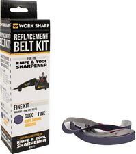 Work Sharp 3863 Original & Ken Onion 6000 Fine Grit Replacement Belt Kit