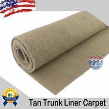 TAN Un-Backed Automotive High Quality Trunk Liner Carpet 50